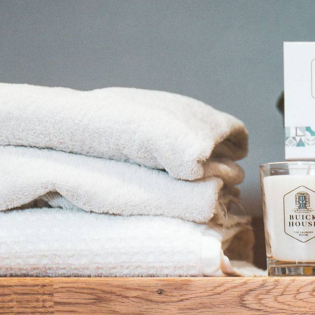 Buick House Candles - The Laundry Room