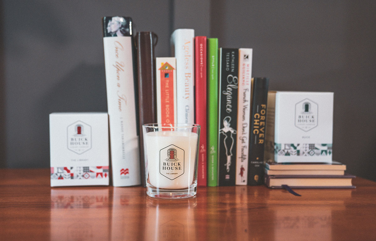 Buick House Candles - The library 2