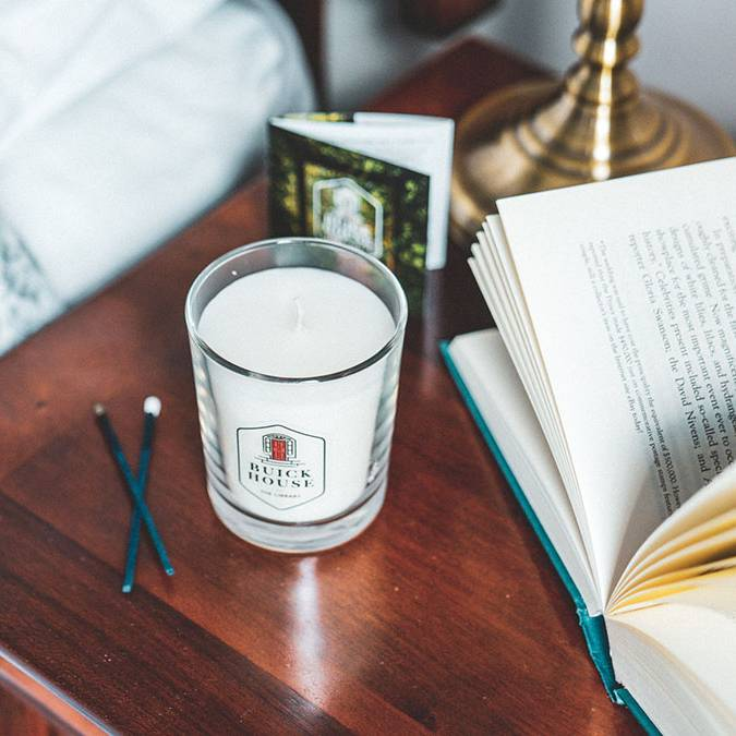 Buick House Candles - The Library
