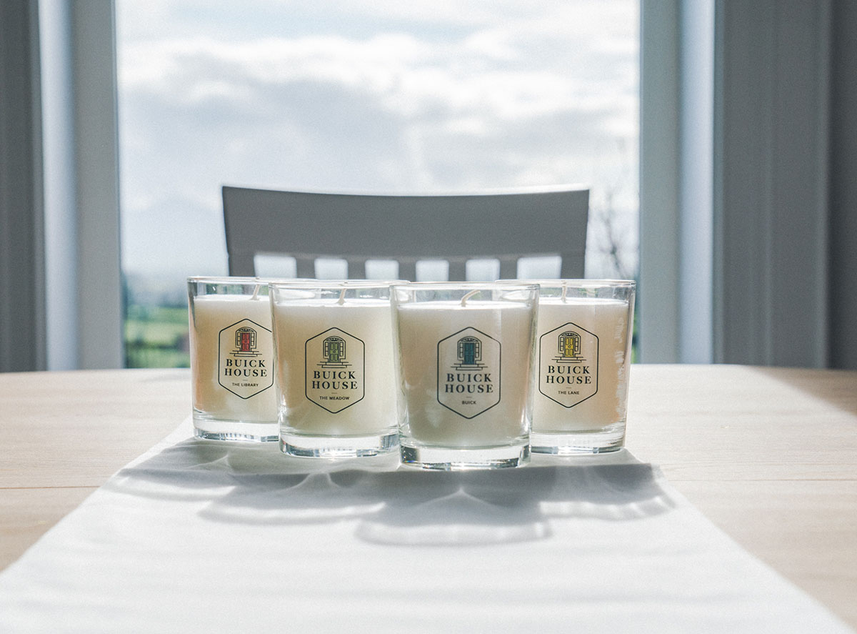 Buick House Candles - The Range Group